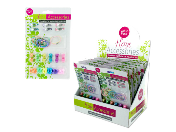 Hair Accessory Counter Top Display
