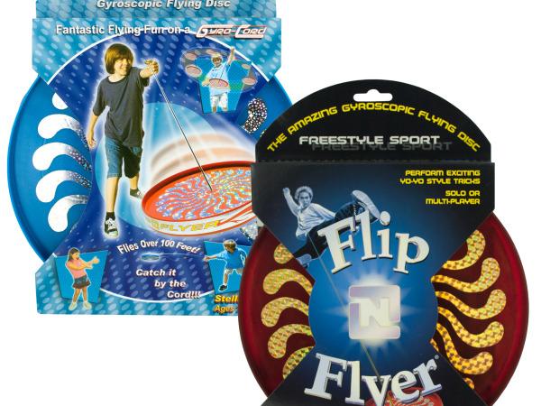 Flip N Flyer Gyroscopic Flying Disc