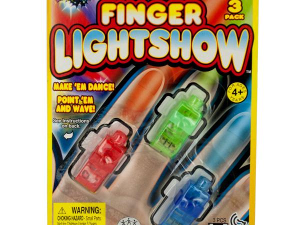 Flash'n Finger Lights Set