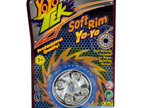 Soft Rim Yo-Yo with Ball Bearings