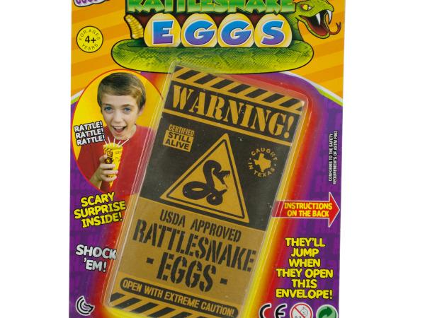 Kids' Rattlesnake Eggs Toy