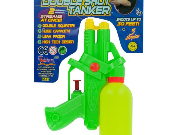 Hydro-Tech Double Shot Tanker Water Gun