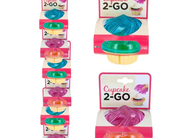 Cupcake 2-GO Portable Cupcake Holder Clip Strip