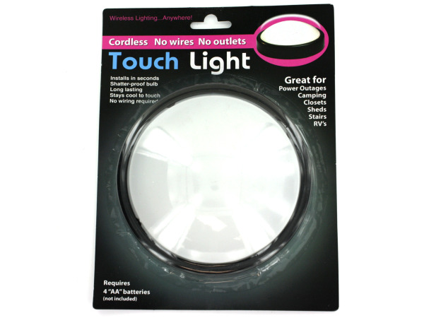 Multi-purpose touch light