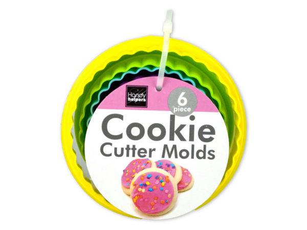 Flower Shape Cookie Cutter Molds Set