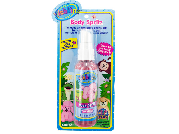 strwbry body spritz 13726