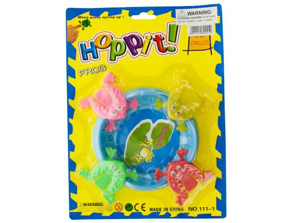Hoppit! Jumping Frog Game Set