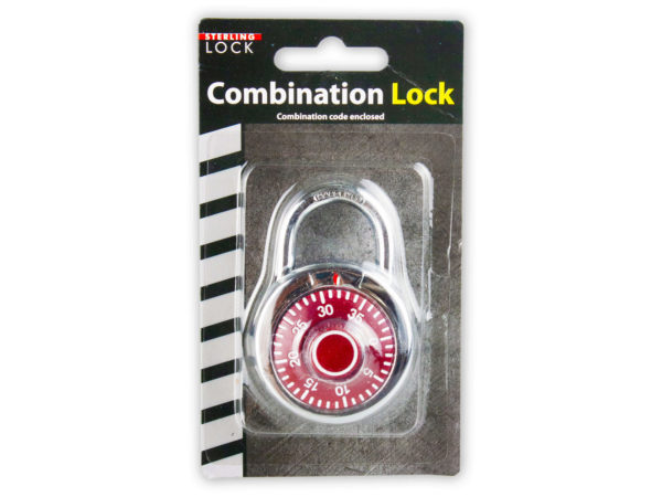 Sea Of Diamonds Wholesale Set of 24, Combination Lock (Tools, Locks), $3.36/set delivered