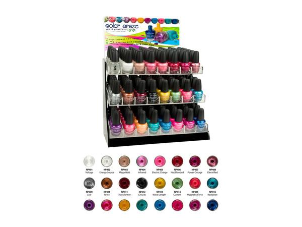 nail polish 3 tier rack display