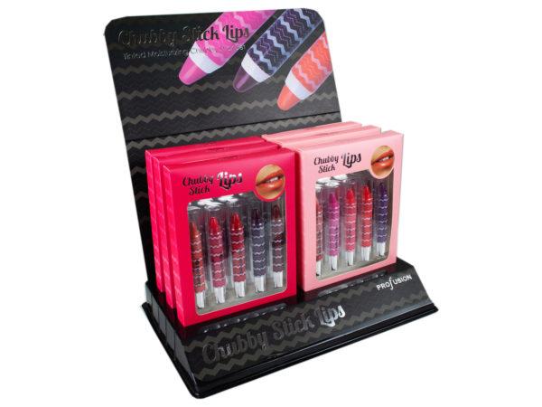 Chubby Lipstick Set- 5pk in Countertop Display
