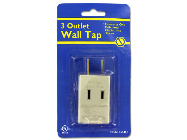 3-outlet wall tap