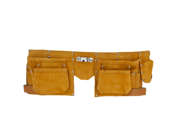 Sea Of Diamonds Wholesale Set of 4, Heavy Duty Suede/Leather Tool Belt (Tools, Tool Storage & Organization), $16.59/set delivered