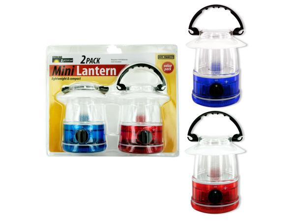 2 pack mini camp lantern