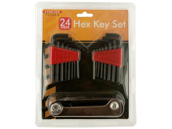 24-Piece Hex Key Set