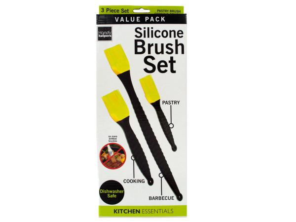 StarSun Depot Wholesale Silicone Cooking Brush Set - Set of 12, [Kitchen & Dining, Kitchen Tools & Utensils]