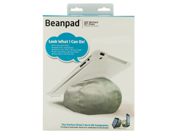 Grey Beanpad Tablet Companion