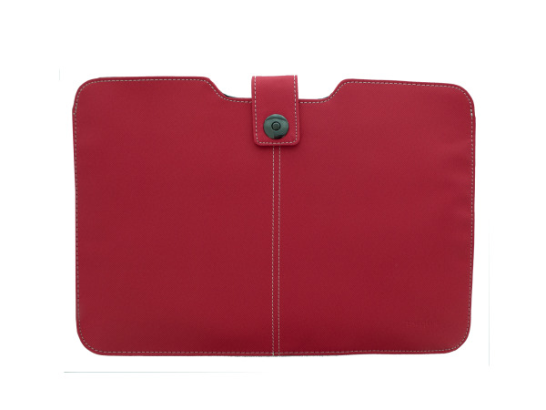 Red Targus Twill Laptop Sleeve