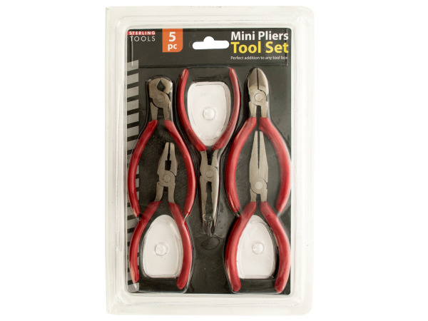 Mini Pliers Tool Set - Set of 4 (Tools Pliers) - Wholesale