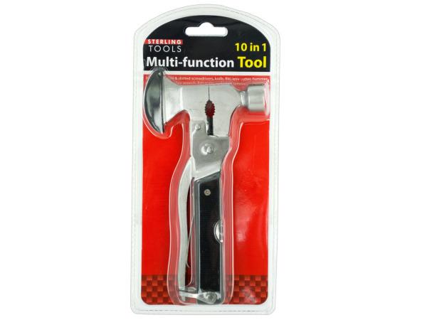 10 in 1 Multi-Function Hammer & Axe Tool