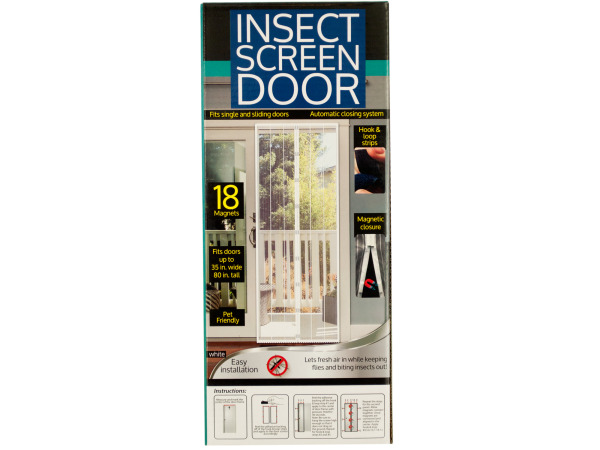Insect Screen Door with Magnetic Closure - Set of 24 (Household Supplies Pest Control) - Wholesale
