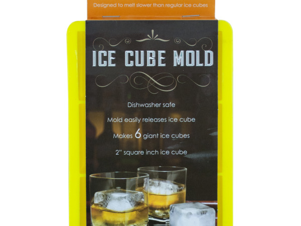 Large Silicone Ice Cube Mold