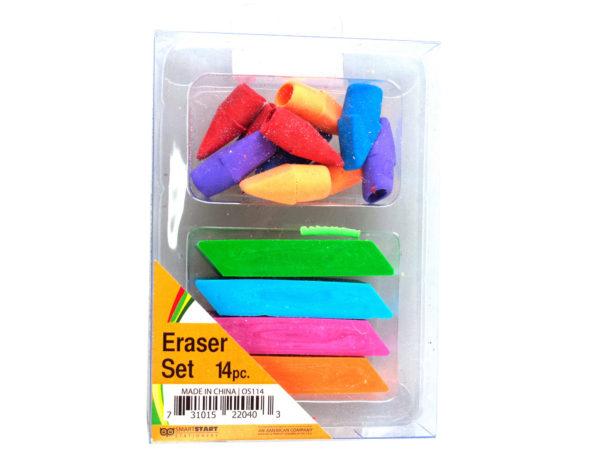 Colorful Eraser Set