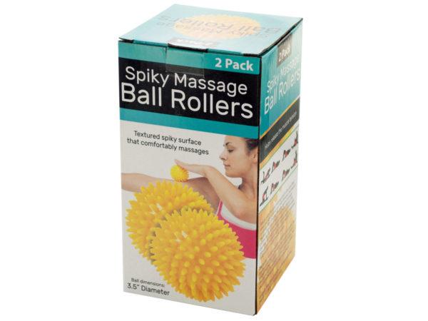 Spiky Massage Ball Rollers Set
