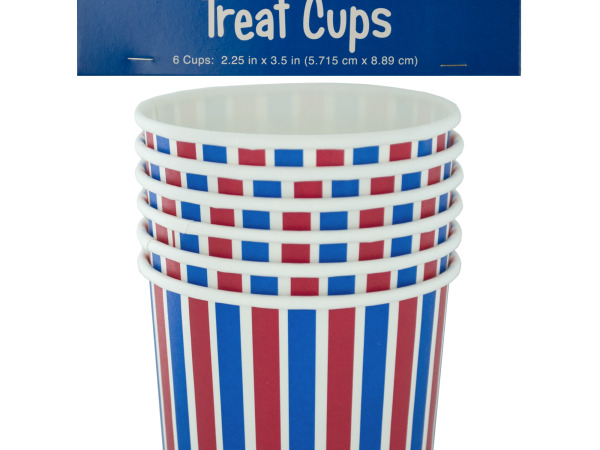 Red White & Blue Treat Cups