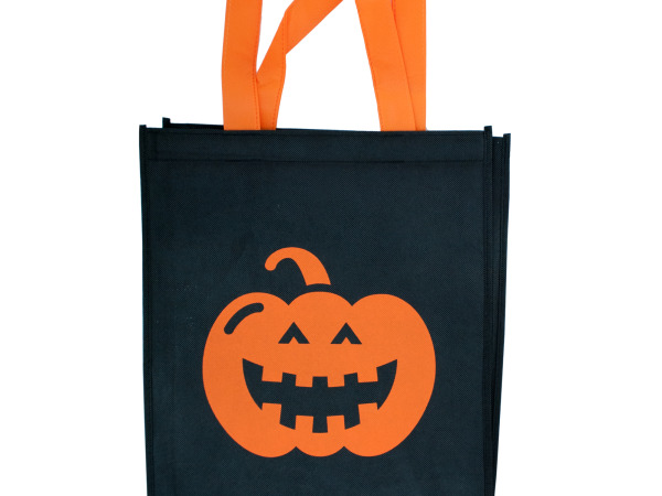 Black Halloween Tote Bag