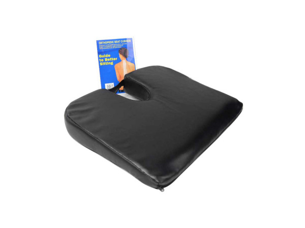 Orthopedic seat cushion