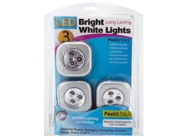 Peel and Stick LED Lights
