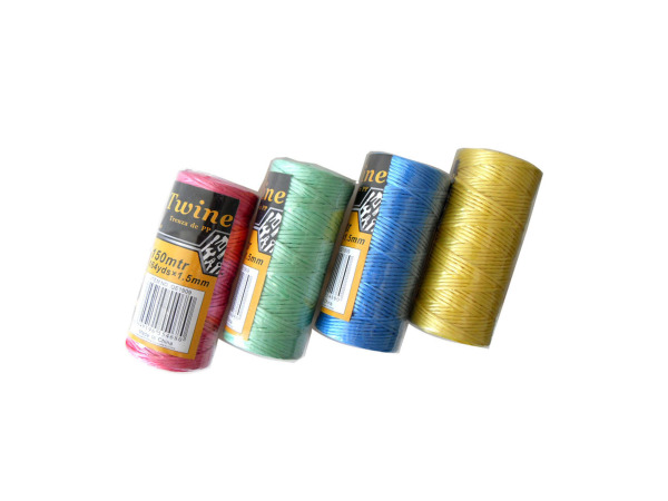 Colored twine, 4 rolls, 54 yards total