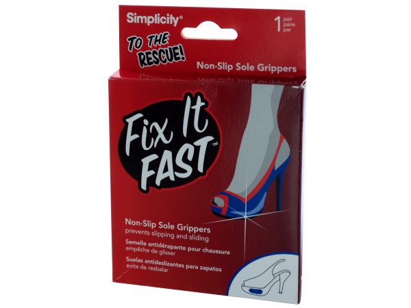 fix it fast non slip sole grippers 1 pair