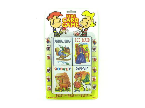 Children's card game set