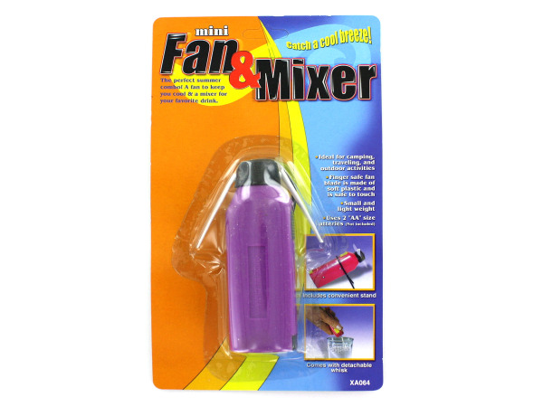 All-in-one fan and mixer