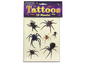Spider And Spider Web Tattoos