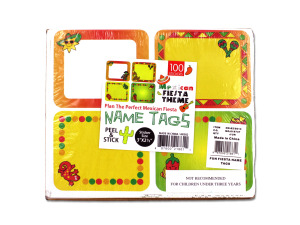 Fun Fiesta Name Tags