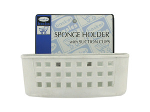 Wholesale: Sink sponge holder with suction cups
