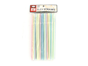 Wholesale: Large pack of straws, 120 count