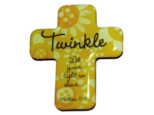 4pk twinkle cross magnets