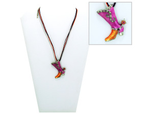 necklace w/boot 2001725