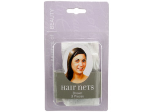 Wholesale: Brown Hair Net Set