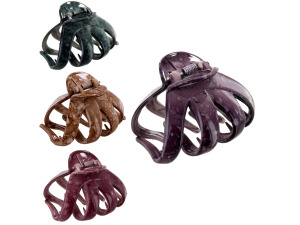 Wholesale: Hair jaw clip assorted colors