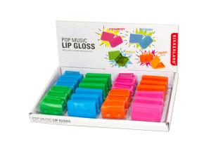 Pop Music Lip Gloss Countertop Display
