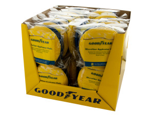 Goodyear Microfiber Applicator Pads Countertop Display