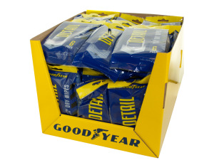 Goodyear Detail Dry Wipes Countertop Display