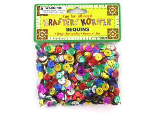 Round Colored Sequins