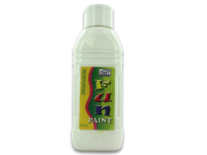Washable paint, white, 8.5 ounces