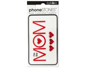 I'm the Mom Phone Stones Stickers