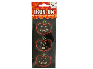 Jack-O-Lanterns Rhinestone Iron-On Transfer